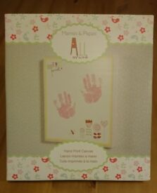 Baby Hand Print Canvas