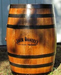 Oak whiskey & bourbon barrels-Jack Daniels, Jim Beam, Makers Mark, Buffalo Trace, Wild Turkey, Woodford, Knob Creek etc