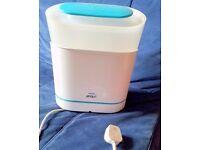 Philips Avent 3 in 1 steam steriliser electric baby bottles feeding breast pump