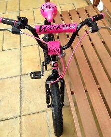 Girls 16inch bmx bike