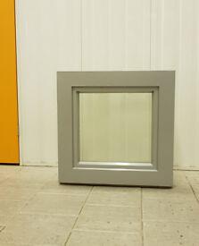 Tilt &Turn Alu-Clad triple glazed SOLID OAK TIMBER window W700mm x H700mm