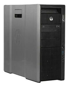 32 Core HP Z820 WorkStation 2 X Intel Xeon E5-2687W 3.10Ghz ,500Gb SSD , 256GB RAM , 16 Physical Core , 32 Logical Core