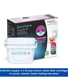 Water Filter Cartridges for Brita and others / x6 pack