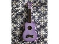 Makala dolphin purple sunburst soprano ukulele