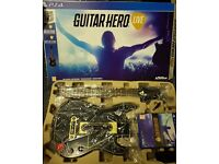 GUITAR HERO LIVE PS4 LIKE NEW AND IN BOX