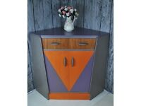 G Plan Vintage Retro Unit Corner Refurbished Painted in Annie Sloan and Waxed