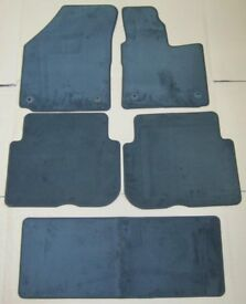 Vw Volkswagen Touran 2007 - 2014 5 Piece Carpet Mat Set New Grey