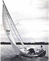 sailboat 25' sloop  (retractable keel)