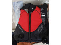 Typhoon Dart Lifejacket (50N) in red. Size: S/M.