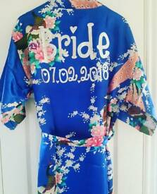 Personalised Bridal Dressing Gowns