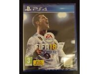 PS4 Fifa 18 - brand new & sealed