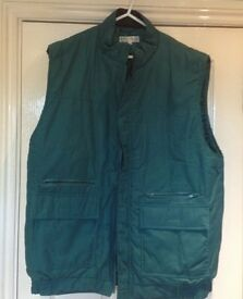 A mans gilet [ bodywarmer ] by Country Trader , size medium