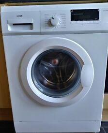 Pre-owned LOGIK washing machine with warranty included