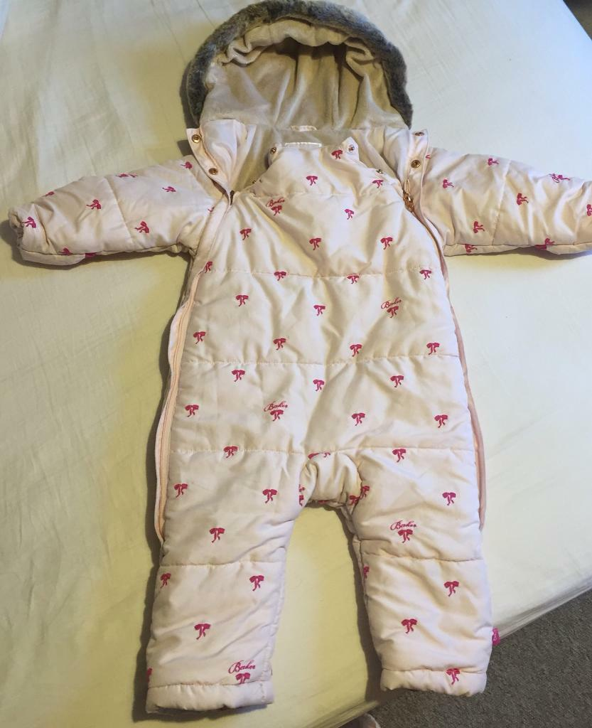 82565d4abe89a Ted Baker Girls 12-18 Month Winter Suit   Snow Suit