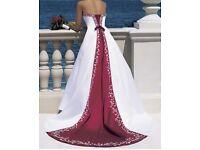 Unworn Alfred Angelo wedding dress size 10