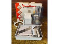 Vintage Moulinex Masterchef 450 plus attachments