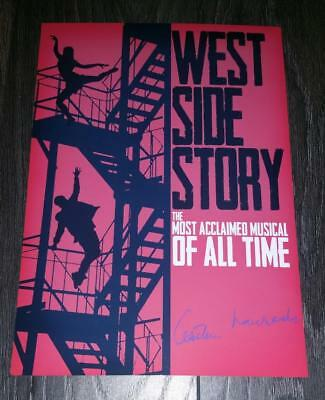 """WEST SIDE STORY PP SIGNED PHOTO POSTER 12""""X8"""" A4 ERNEST LEHMAN"""