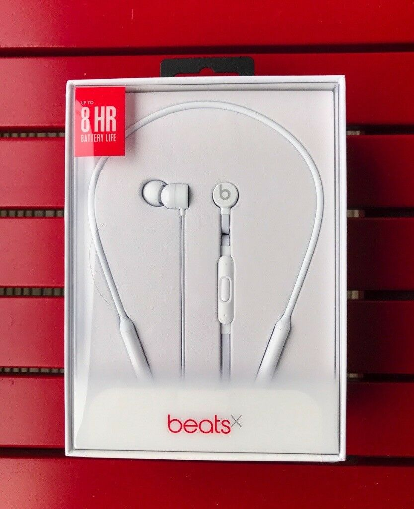 Beats X by Dr. Dre BeatsX Wireless Headphones - White