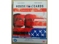 House Of Cards season 5 blu-ray - complete fifth series boxset