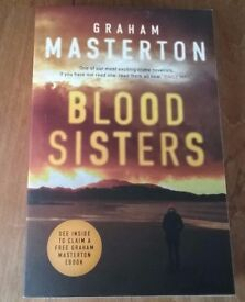 New Graham Masterton Blood Sisters Book