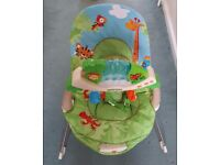 Fisher Price Rainforest bouncy chair