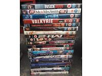 Over 20 DVDs