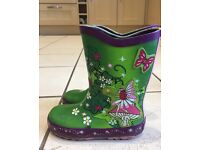 Girls wellies size 8.5 and 9