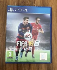 FIFA 16 PS4 - IMMACULATE CONDITION