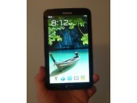 "SAMSUNG TAB 3 7"" 8GB BLACK FULLY WORKING ,VERY GOOD CONDITION,COMES WITH USB AND CHARGER PLUG"