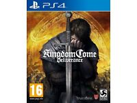 Bought today 19/02/18 Kingdom Come Special Edition PS4