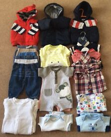 Baby Boy Clothes 0 - 6 Months - Bargain £10