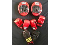Everlast Junior BBE Britannia Boxing Set