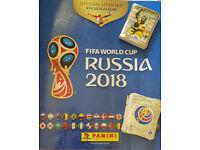 Panini World Cup 2018 stickers