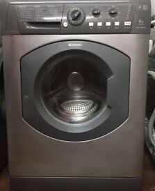 Hotpoint WML540 6kg 1400 Spin Silver A+ Rated Washing Machine 1 YEAR GUARANTEE FREE FITTING