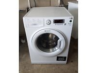 FREE DELIVERY Hotpoint large 10kg, quiet operation, A+++ energy rated washing machine WARRANTY