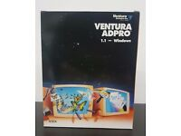 Vintage Ventura Adpro 1.1 Windows Advertising Design and Layout Power for the PC