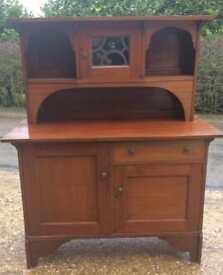 Arts & Crafts Mahogany Dresser