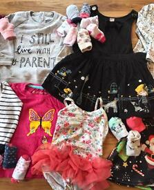 Assorted clothing (Girls: 18-24 months)