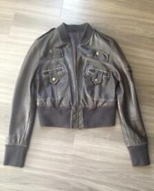 Vintage soft leather jacket