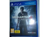 Uncharted 4 , Ratchet & Clank, Star Wars Battlefront and Driveclub (PS4) £50 OR Swap see Ad