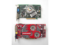 Nvidia & ATI Radeon (Various) - AGP Graphics Cards (Windows 7, Win XP, Vista, Desktop PC, Pentium)