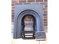 Fireplace Victorian cast iron