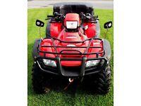 Used Honda TRX500FA Fourtrax Quad for Sale