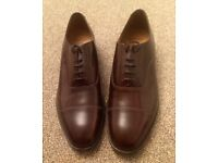 JONELLE OXFORD MEN LEATHER UPPER & SOLE SHOES. SIZE 11. NEW/NEVER WORN