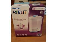 Phillips Avent 2in1 electric steam steriliser