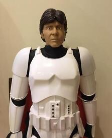 VERY RARE Star Wars - Han Solo Stormtrooper 80cm £50