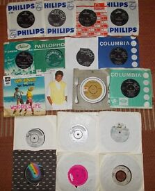 VINYL RECORDS ASSORTED SINGLES, LP'S AND BOX SETS.