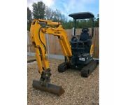 Hyundai mini digger 2015 NO VAT