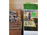 NutriBullet 600W Blender/Mixer Extractor GREY 12 Piece Set [BRAND NEW]