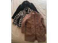 Girls 5-6 year old various jackets x 3